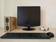 Корпус компьютера mini-ITX из дерева. WoodMark