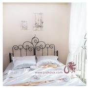 Кованая кровать с матрасом 160х200мм