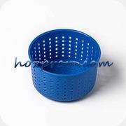 Синяя сырная форма Лазурь с выходом продукции 0, 4 - 0, 7 кг.