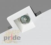 Точечные светильники гипсовые производства ТМ Pride из серии светильни